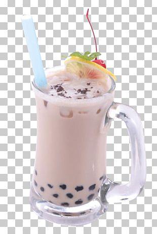 Ice Cream Bubble Tea Coffee Thai Tea PNG
