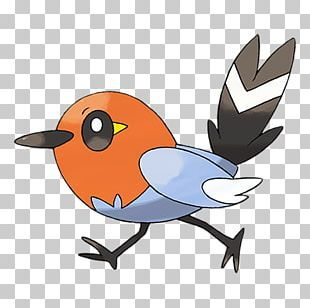 Pokémon X And Y Pokémon Sun And Moon Fletchling Evolution PNG