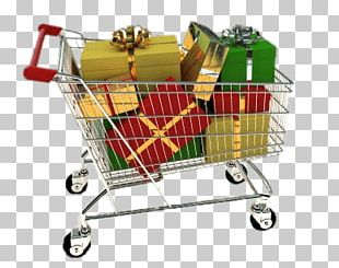 Shopping Cart Full Of Presents PNG