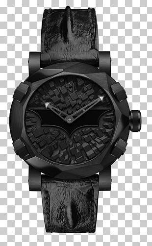 Batman Watch RJ-Romain Jerome Jaeger-LeCoultre Tourbillon PNG