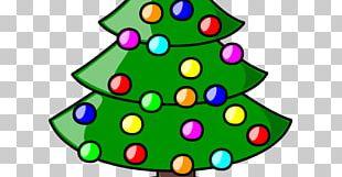 Christmas Tree Christmas Decoration Santa Claus PNG