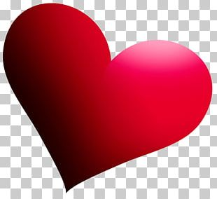 Heart Love Red Valentine's Day PNG