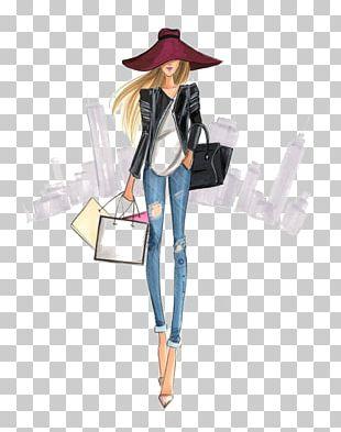 Fashion Illustration Drawing Illustration PNG