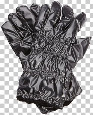 Glove Black And White Leather PNG
