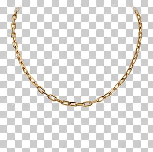Necklace Jewellery Chain Gold Rope Chain PNG