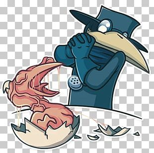 Telegram Sticker Plague Doctor PNG