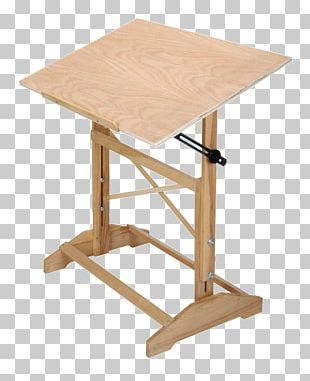 Table Drawing Board Art Furniture PNG