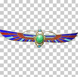 Turquoise Body Jewellery Brooch PNG