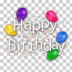 Happy Birthday To You PNG