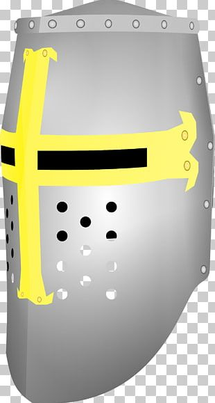Middle Ages Crusades Great Helm Helmet PNG