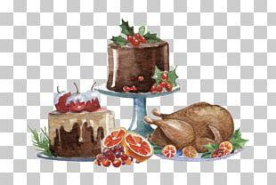 Wedding Invitation Christmas Cake Christmas Dinner PNG