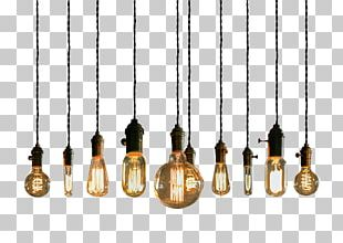 Lighting Incandescent Light Bulb Pendant Light Light Fixture PNG