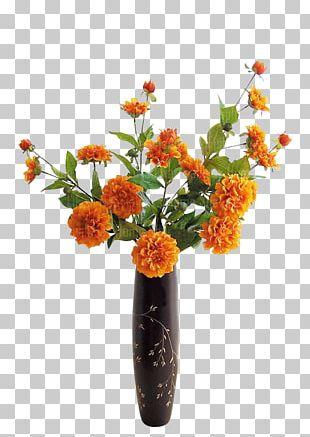 Floral Design Vase Flower Decorative Arts PNG