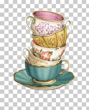 Teacup Coffee Saucer PNG