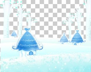 Snow Winter Poster PNG