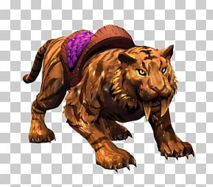 Golden Tiger Heroes Of The Storm Video Game PNG
