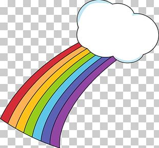 Rainbow Cloud Scalable Graphics PNG