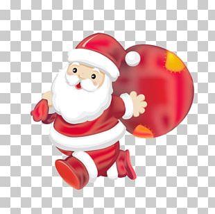 Santa Claus Christmas Card Christmas Tree Christmas Ornament PNG
