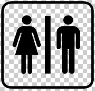 Toilet Sign PNG