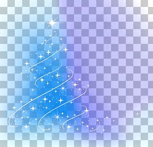 Christmas Tree Light New Year Christmas Decoration PNG