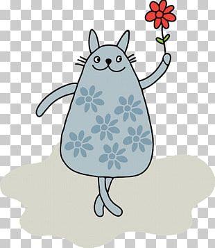 Cat Kitten Purrfect Date PNG