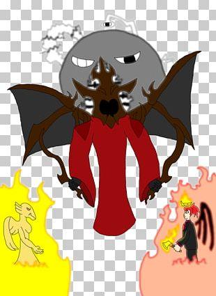 Demon BAT-M Legendary Creature PNG