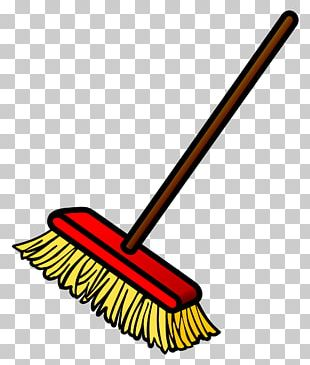 Witch's Broom Mop PNG