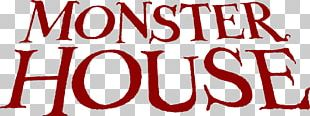 Monster House YouTube Haunted House Logo Font PNG