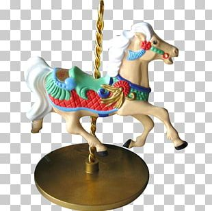 Horse Carousel Figurine PNG