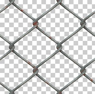 Chain-link Fencing Fence Metal Mesh PNG