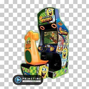 Nicktoons Nitro Nicktoons Racing Arcade Game Racing Video Game Raw Thrills PNG
