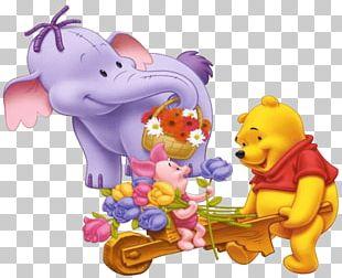 Winnie-the-Pooh Piglet Eeyore Roo Tigger PNG