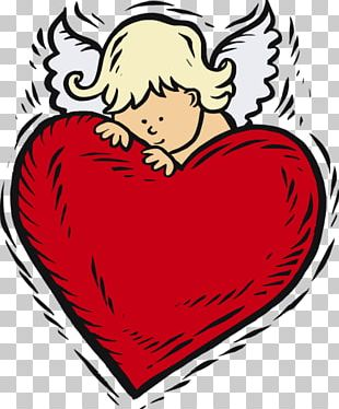 Valentine's Day Love 14 February Gift Angel PNG