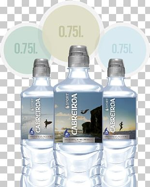 Mineral Water Glass Bottle Bottled Water PNG