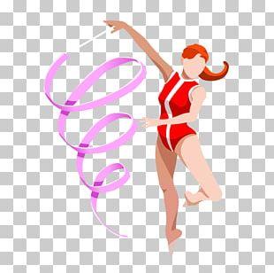 Rhythmic Gymnastics Sport Illustration PNG