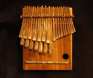 Mbira Lamellophone Musical Instruments Piano Music Of Africa PNG