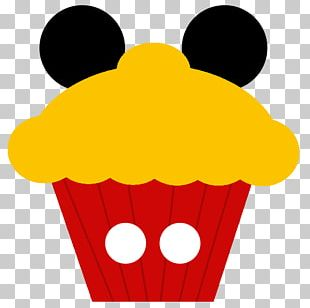 Mickey Mouse Minnie Mouse Donald Duck Cupcake PNG