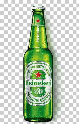 Heineken Premium Light Pale Lager Beer PNG