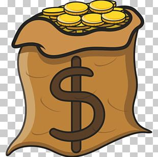 Money Bag Drawing Coin Cartoon PNG