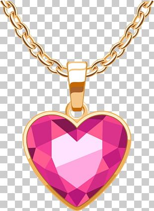 Necklace Locket Jewellery Gold PNG
