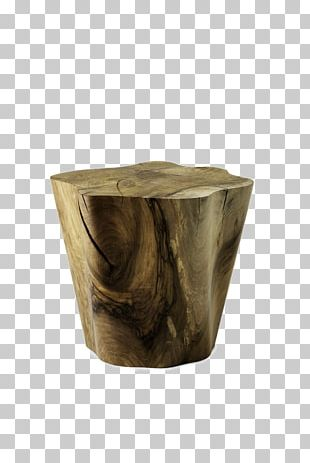 Table Stool Furniture Wood Tree PNG