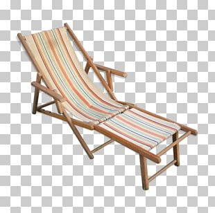 Chair Chaise Longue Wood Garden Furniture PNG