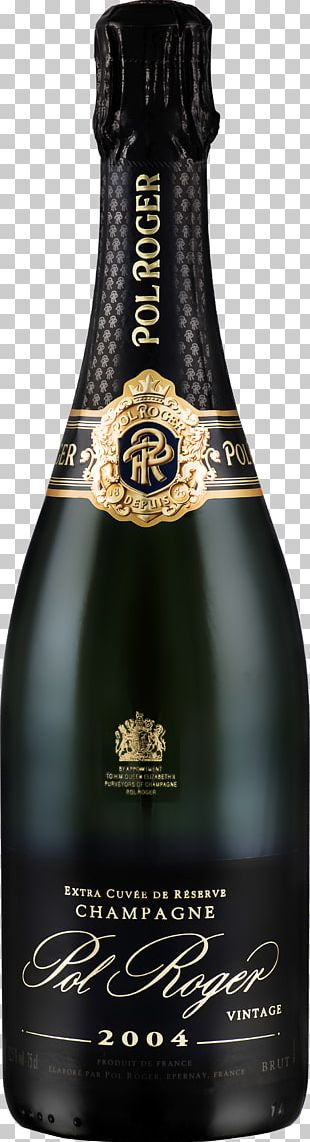 Champagne Sparkling Wine Pol Roger Prosecco PNG