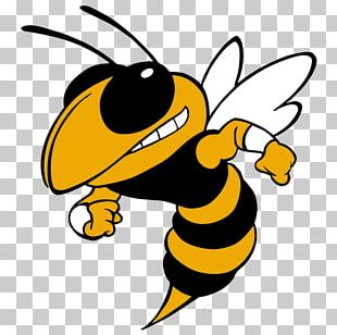 Georgia Institute Of Technology Georgia Tech Yellow Jackets Football Vespula Bee Hornet PNG