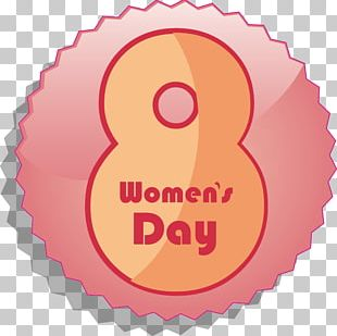 International Womens Day March 8 Woman Illustration PNG