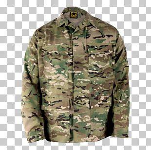 Army Combat Shirt Army Combat Uniform MultiCam Military Battle Dress Uniform PNG