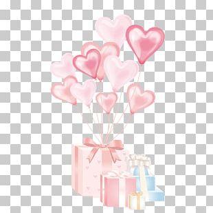 Balloon Gift Birthday PNG