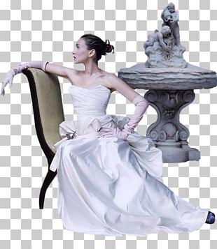 Bride Wedding Dress Woman PNG