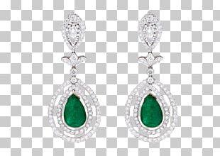 Emerald Earring Jewellery Diamond Gemstone PNG