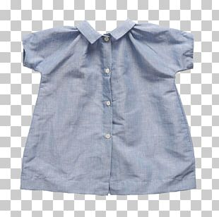 Blouse Collar Sleeve Button Barnes & Noble PNG